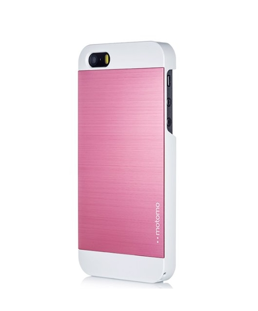 iPhone 5C Case MOTOMO Pink iPhone 5C Case Aluminum Brushed Aluminum Metal Cover Protective Case
